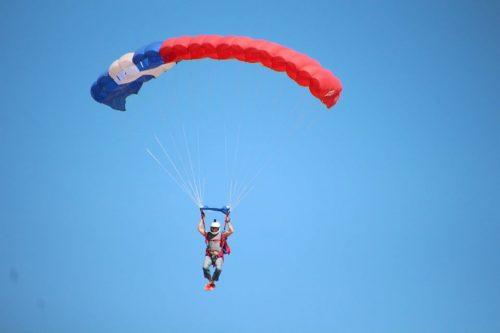 Royal Gorge region jumping landing